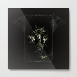 Siren splash gothic Metal Print