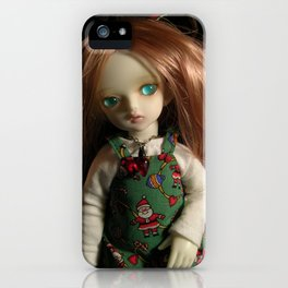 Dressed for Christmas iPhone Case