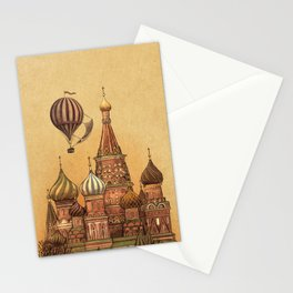Trip to Moscow Stationery Cards