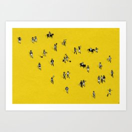 Going Places Art Print