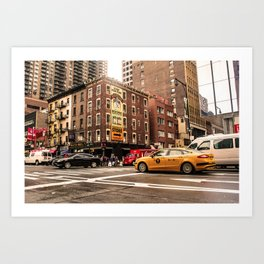 ArtWork New York City USA Art work photo Art Print