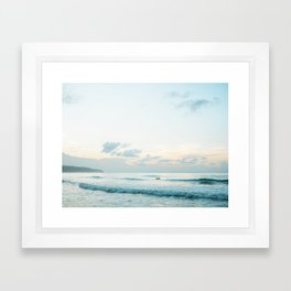 Once your board hits the ocean | Surf travel photography print | Central America Framed Art Print
