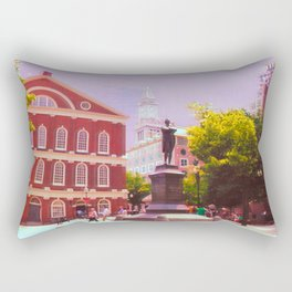 Faneuil Hall Rectangular Pillow