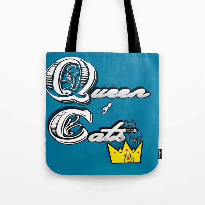 cat queen Tote Bag