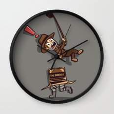 Snaaaaake! Wall Clock