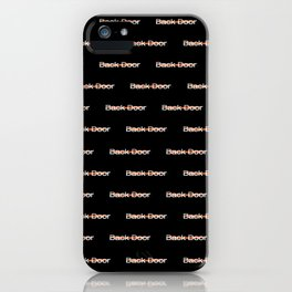 back door iPhone Case