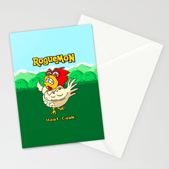 Hawt Cawk Stationery Cards