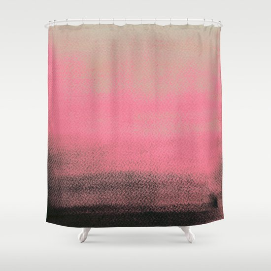 Space Between Shower Curtain