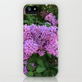 Lilac Perfume iPhone Case
