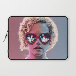 Electrick Girl Laptop Sleeve