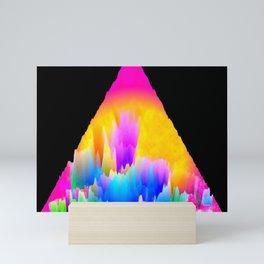 Macintosh 80s plus Mini Art Print