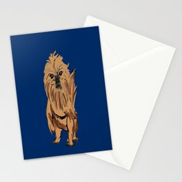 griffon dog Stationery Cards