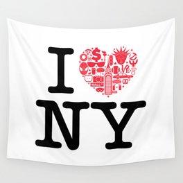 I everything NY Wall Tapestry