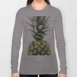 Pineapple Close-Up Long Sleeve T-shirt
