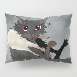 Naughty Vampire Cat Pillow Sham