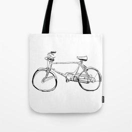 Cruiser Bicycle Tote Bag