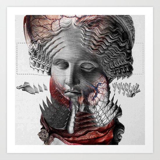 OFFAL II Art Print