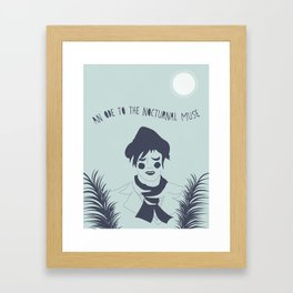 OF MONTREAL: NOCTURNAL MUSE Framed Art Print