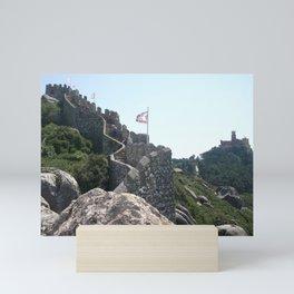 Moorish Castle Mini Art Print