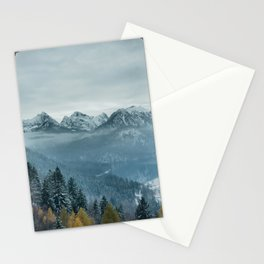 The view - Neuschwanstin casle Stationery Cards
