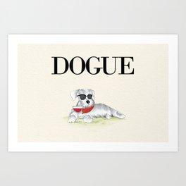Dogue Art Print