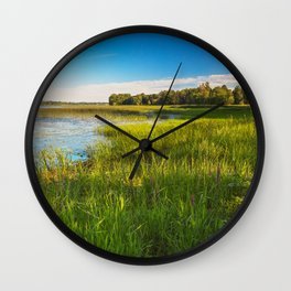 Isle La Motte Wall Clock