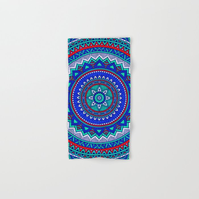 Hippie mandala 28 Hand & Bath Towel