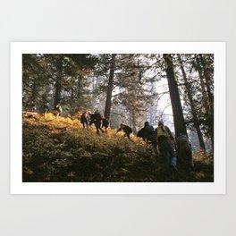 Bitterroot Mountains, Montana Art Print
