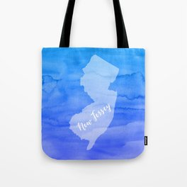 Sweet Home New Jersey Tote Bag