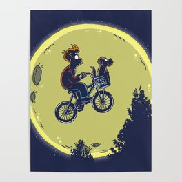 Fry me to the moon Poster
