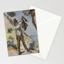 Man with a Vest Stationery Cards