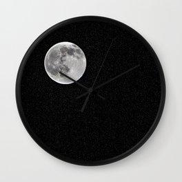 mista moon Wall Clock