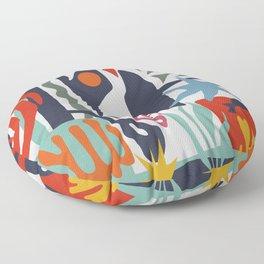 Inspired to Matisse Floor Pillow