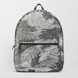Deer and Fern Backpack