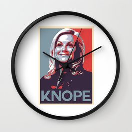 Leslie Knope Parks And Rec Wall Clock