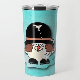 Snowball Guy Three Travel Mug
