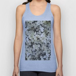 Lacy leaves Unisex Tank Top