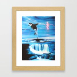 'Pure Water Systems' Framed Art Print