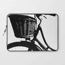 Vintage Bicycle Decor | Bicyclist | Biking Life | Bicycle Art Laptop Sleeve