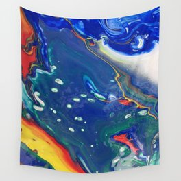 dirty pour i Wall Tapestry
