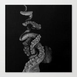 Tentacle IV Canvas Print