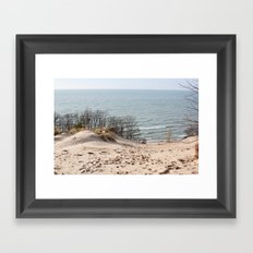 Foothill Framed Art Print