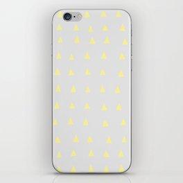 Yellow Houses - Geometric Art iPhone Skin