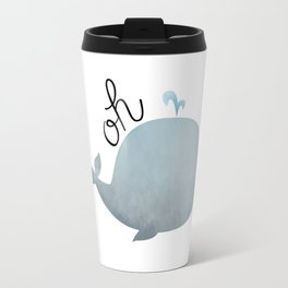 Oh Whale Travel Mug