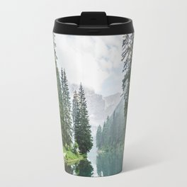 Forest Reflection in Italy Travel Mug