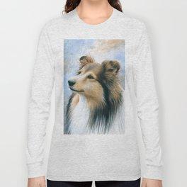 Sheltie Collie Dog Long Sleeve T-shirt