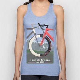 Tour De France Bicycle Unisex Tank Top