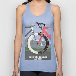 Tour De France Bicycle Unisex Tank Top