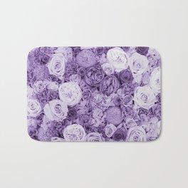 bouquet ver.purple Bath Mat
