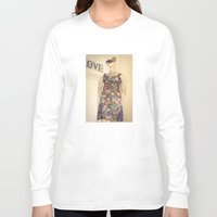 vogue Long Sleeve T-shirts featuring Vogue by Carol Knudsen Photographic Artist